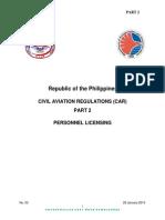 CIVIL AVIATION REGULATIONS (CAR) PART 2