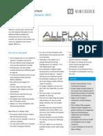 Allplan BIM 2008 Arch - 071211 - Neues Seit Version 2003 - Engl