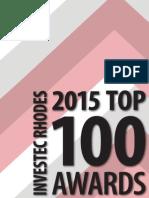 Investec Rhodes Top 100 insert 2015
