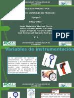 Variables de Instrumentacion