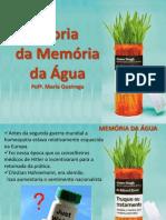 Memória Da Agua