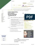 Caracterizarea, Evaluarea Si Selectionarea Furnizorilor