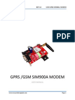 GPRS GSM Sim900A Modem