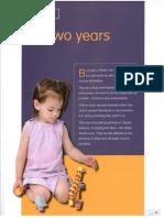 child development ch 9 two years