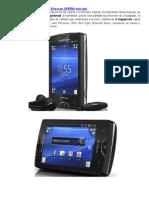 Características Técnicas Sony Ericsson XPERIA Mini Pro
