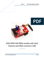 GPRS GSM Sim900A Modem With Stub Antenna and SMA connector-USB