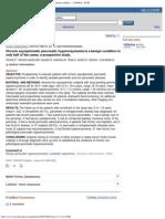 Chronic Asymptomatic Pancreatic Hyperenzymemia is a Benign Conditio... - Pub