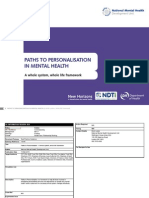 Paths to Personalisation