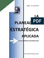PLANEACION ESTRATEGICA EMPRESAS GUATEMALTECAS