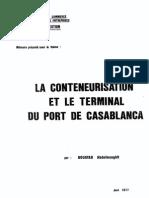 La Conteneurisation Et Le Terminal Du Port de Casablanca (2)