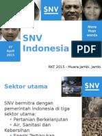 SNV Presentasi Muara Jambi