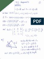 Math 3012 Assignment 1 Solutions