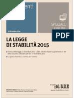 Sole24 Legge Stabilità 2015