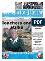 Ghetto Mirror Issue 22