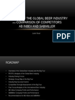 Global Beer Industry Thesis