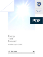 Energy Yield Forecast PVP Giurgiu 28MWp v2