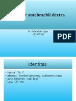 Fr Antebrachii Dx