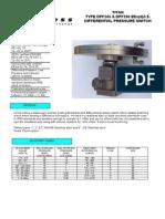Pressure Switch - Pyropress DPF266
