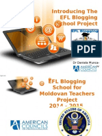 Blogging School Project Description