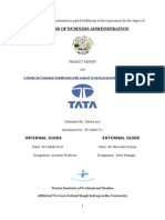 Project Report on Tata Motors