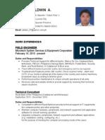 Resume(Updated)