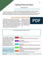setting financial goals info sheet 2-1-4-f1