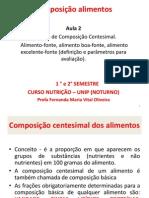 Aula 2 - Cálcul os de composição centesimal.pdf