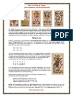 The Tarot of Marseille for Fun and Prophet