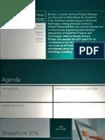 SharePoint 2016 Technology