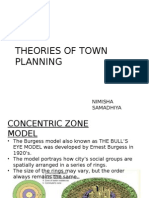 THEORIES OF TOWN PLANNING