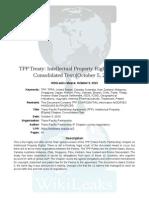 WikiLeaks TPP IP Chapter 051015