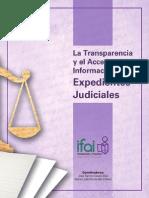 Transparencia y Acceso a La Informacio 769 n en Los Expedientes Judiciales