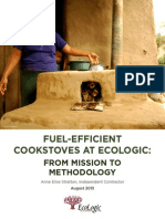 cookstoves at ecologic - from mission to methodology - full