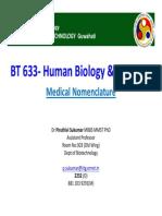 BT 633 Lecture-2 Nomenclature