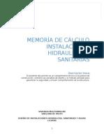 Memoria Hidraulica