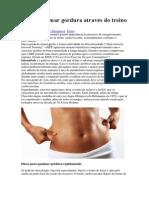 Como queimar gordura através do treino de cardio.pdf