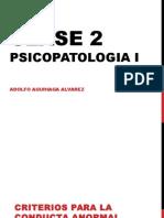 Clase 2 Psicopatologia i