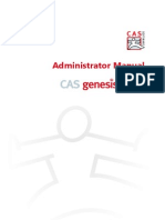 Manual Cas Genesis World Administrator