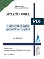 Muratura - Linda Giresini