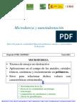 Microdureza y Nano