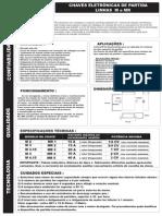 Chaves Eletrônicas de Partida - Linhas M e MR