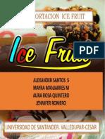 Ice Fruit Informe Final