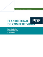 Plan Regional de Competitividad de Antioquia