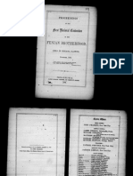 1863.1st Convention Proceedings of the Fenian Brotherhood
