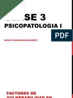 Clase 3 Psicopatología