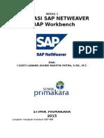 Modul Instalasi SAP NW