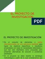 Aspectos Generales de Un Proyecto de Investigación