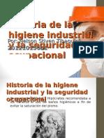 Historia higiene industrial