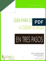 Guia Para Comenzar a Cuidar Tu Salud en Tres Pasos.pub