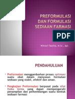 preformulasi teknik sediaan farmasi